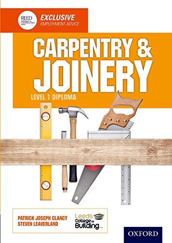 9781408521250: Carpentry & Joinery Level 1 Diploma