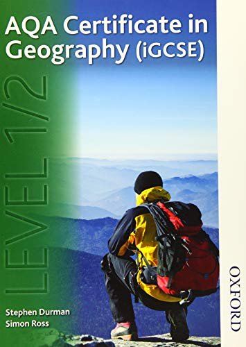 9781408521304: AQA Certificate in Geography (iGCSE) Level 1/2