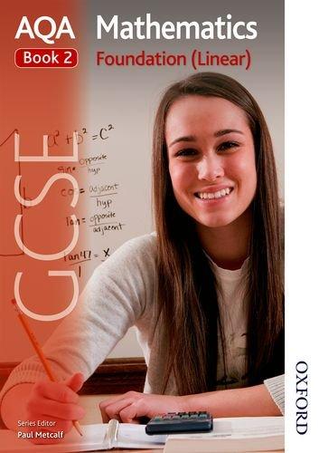 9781408521472: AQA GCSE Mathematics Foundation (Linear) Book 2