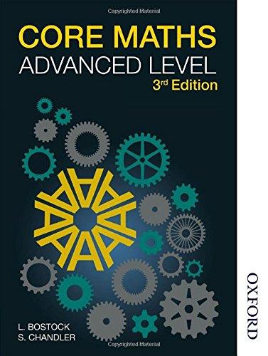 Core Maths For Advanced Level 3 Rev: Bostock, Linda;chandler, F.s.