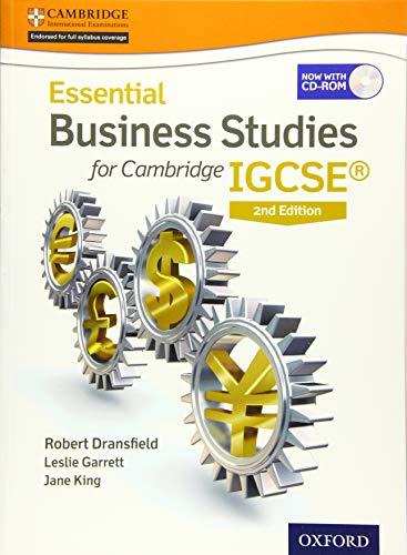 9781408523254: Essential Business Studies for Cambridge Igcse