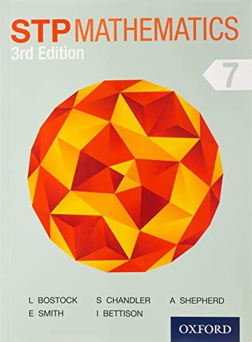 9781408523780: STP Mathematics 7 Student Book 3rd Edition