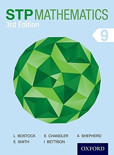 9781408523803: STP Mathematics 9 Student Book 3rd Edition (Stp Mathematics 3rd Edition)