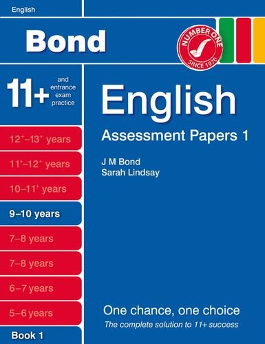 9781408525197: Bond Assessment Papers English 9-10 yrs Book 1