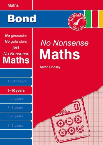 9781408525364: Bond No Nonsense Maths 9-10 years