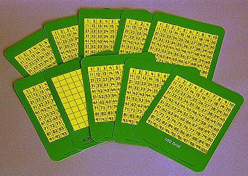 9781408525869: Children's 100-Grids