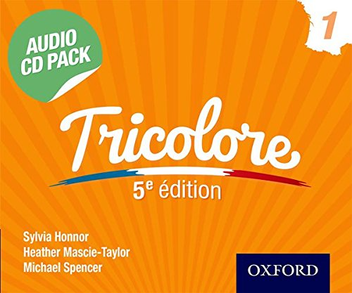 9781408527405: Tricolore 5e edition Audio CD Pack 1