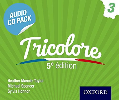 9781408527429: Tricolore 3 CD Pack 5th