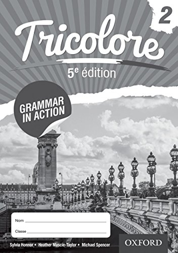 9781408527443: Tricolore 5e edition Grammar in Action Workbook 2 (8 pack)