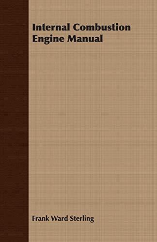 9781408624838: Internal Combustion Engine Manual