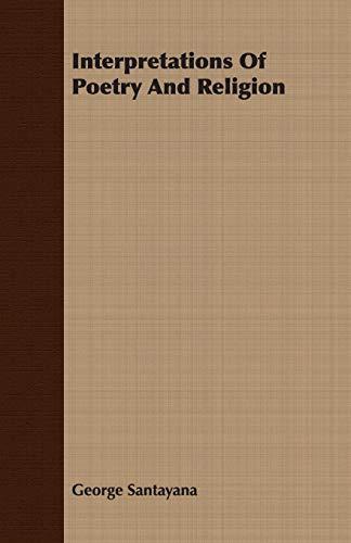 9781408624906: Interpretations Of Poetry And Religion