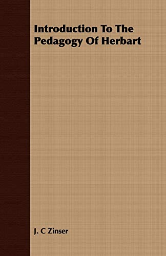 9781408681688: Introduction To The Pedagogy Of Herbart