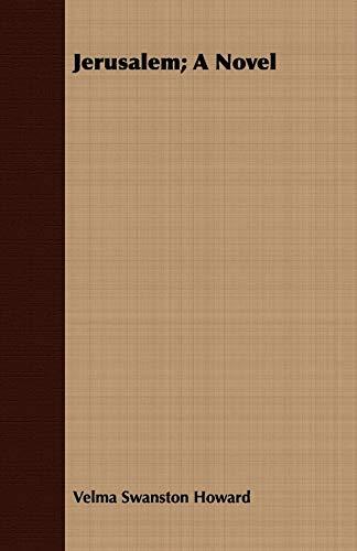 9781408682067: Jerusalem; A Novel