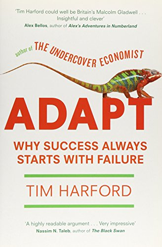 9781408701539: Adapt: Why Success Always Starts with Failure