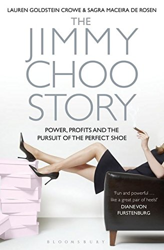 9781408800850: The Jimmy Choo Story: Power, Profits and the Pursuit of the Perfect Shoe