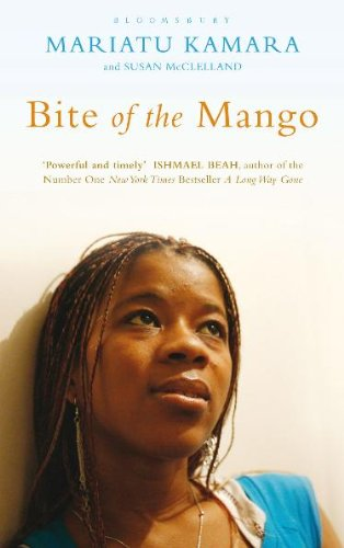 a reflection on the book the bite of the mango by mariatu kamara The bite of the mango was one of the first books we read for reading circle mariatu kamara is a survivor of the war in sierra leone her memoir, the bite of the mango is a remarkable account of her experiences living in her war-torn country at the age of 12, mariatu's village was invaded by rebels where she was raped, beaten and both her hands were cut off.