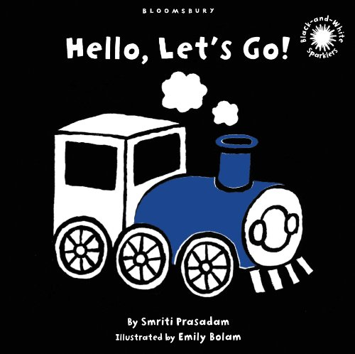 9781408805718: Hello, Let's Go!: Black and White Sparkler Board Book