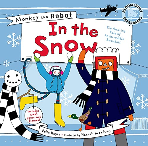 9781408806562: Monkey and Robot: In the Snow