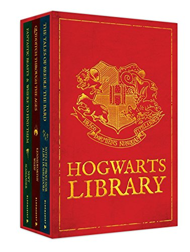 9781408834824: The Hogwarts Library Boxed Set including Fantastic Beasts & Where to Find Them