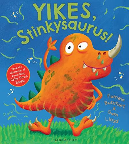 9781408837061: Yikes, Stinkysaurus!