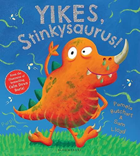 9781408837078: Yikes, Stinkysaurus!