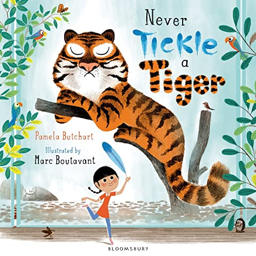 9781408839034: Never Tickle a Tiger