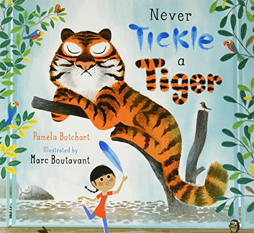 9781408839041: Never Tickle A Tiger