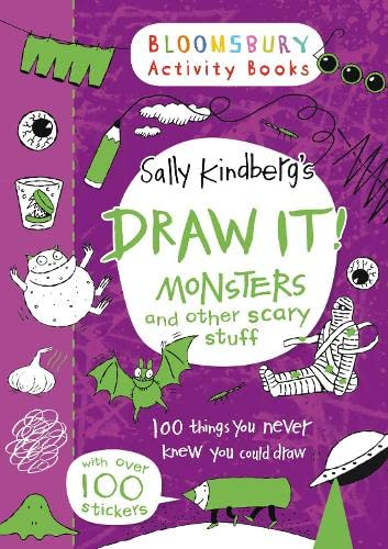 9781408840566: Draw It! Monsters and other scary stuff