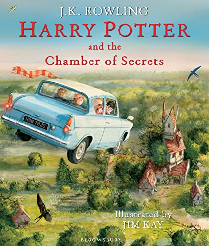 9781408845653: Harry Potter and the Chamber of Secrets: Illustrated Edition