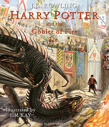 9781408845677: Harry Potter and the Goblet of Fire: Illustrated Edition