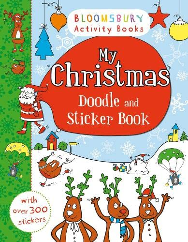 9781408847275: My Christmas Doodle and Sticker Book