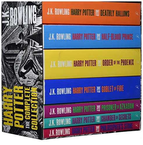 9781408850756: Harry Potter Boxed Set: The Complete Collection (Adult Paperback) (Harry Potter Adult Cover)