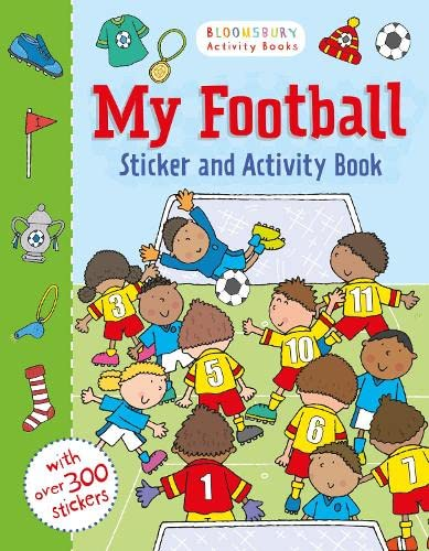 9781408855164: My Football Sticker and Activity Book