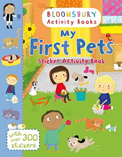9781408855225: My First Pets Sticker Activity Book