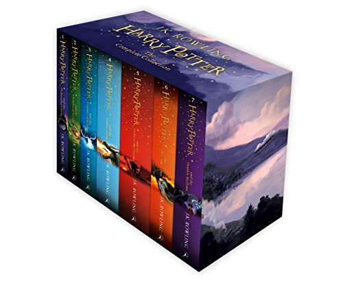 9781408856772: Harry Potter Box Set: The Complete Collection (Children's Paperback)