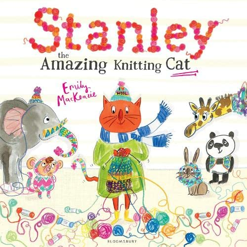9781408860489: Stanley the Amazing Knitting Cat