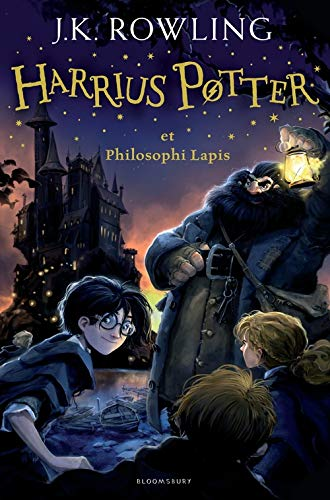 9781408866184: Harry Potter and the Philosopher's Stone Latin (English and Latin Edition)