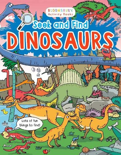 9781408867532: Seek and Find Dinosaurs