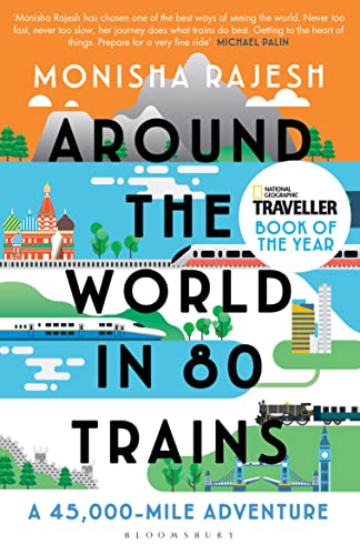 9781408869772: Around the World in 80 Trains: A 45,000-Mile Adventure