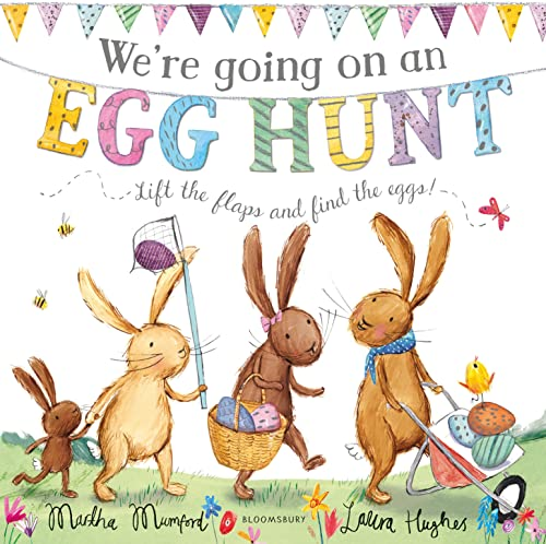 9781408873861: We're Going on an Egg Hunt: Board Book