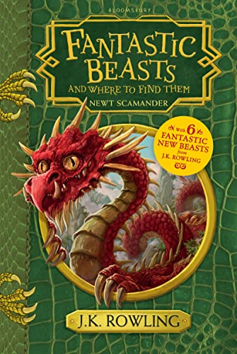 9781408880715: Fantastic Beasts and Where to Find Them: Hogwarts Library Book