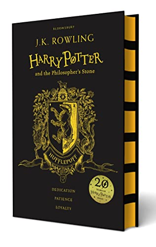 Harry Potter and the Philosopher's Stone. Hufflepuff: J K ROWLING