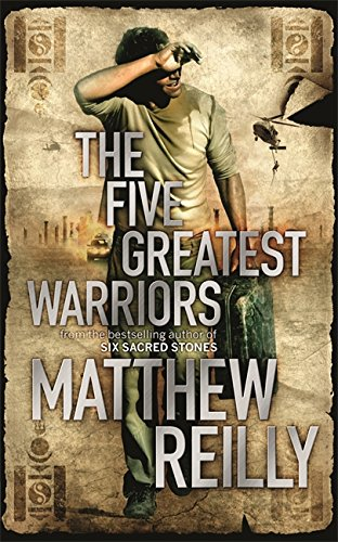 9781409110934: The Five Greatest Warriors (Jack West Series)