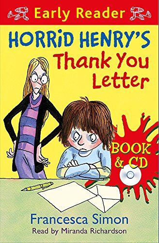 9781409130888: Horrid Henry's Thank You Letter: Book 9 (Horrid Henry Early Reader)