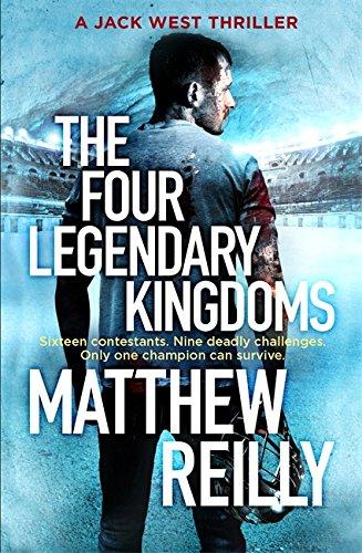 9781409167129: The Four Legendary Kingdoms (Jack West Series)