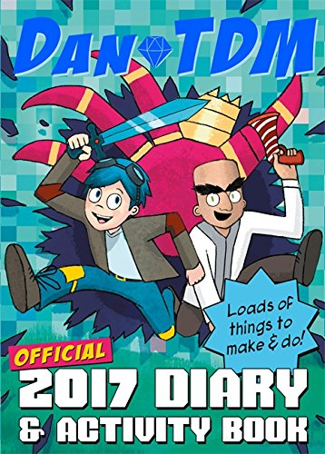9781409171188: Official DanTDM 2017 Diary and Activity Book: Lots of Things to Make and Do