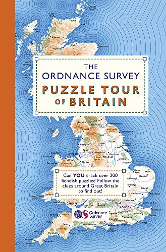 9781409184713: The Ordnance Survey Puzzle Tour of Britain: A Journey Around Britain in Puzzles