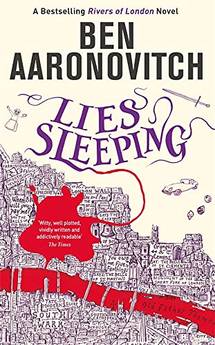 9781409186991: Lies Sleeping: The Seventh Rivers of London novel (A Rivers of London novel)