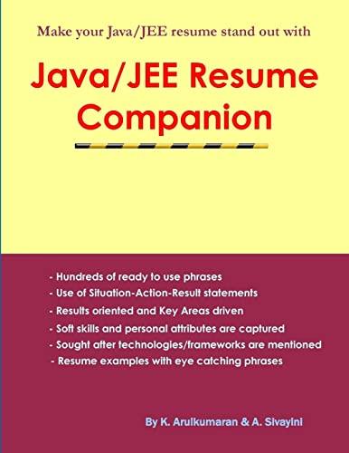 9781409262770: Java/JEE Resume Companion