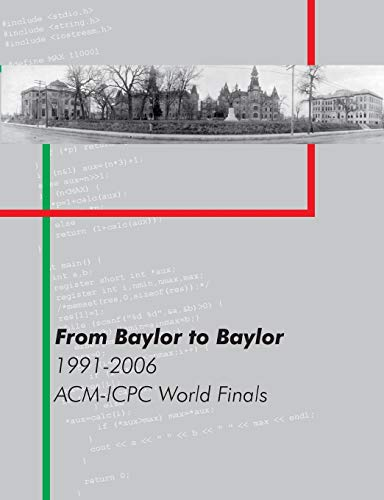 9781409273059: From Baylor to Baylor